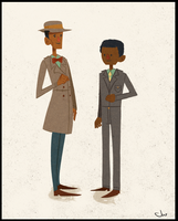 Inspector and Companion by Bumbledom