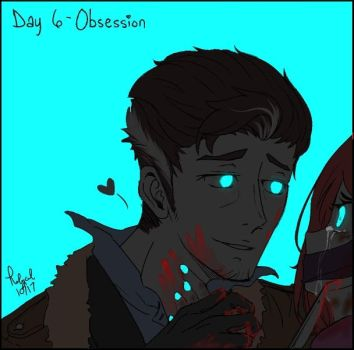 Goretober Day 6 Obsession by Rolycul