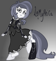 SOLD - La Mythica - Spooky Special Offer To Adopt by MonkFishyAdopts