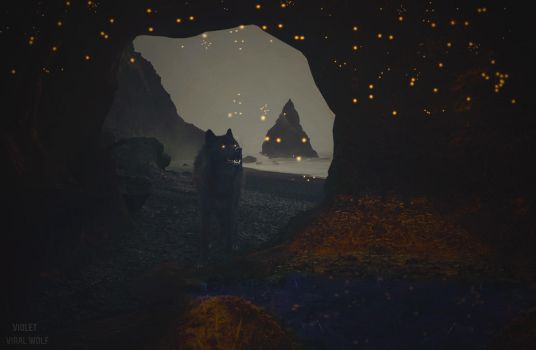 A small cave of treasures by Viral-Wolf