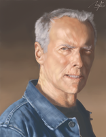 Clint Eastwood by Ugorarts