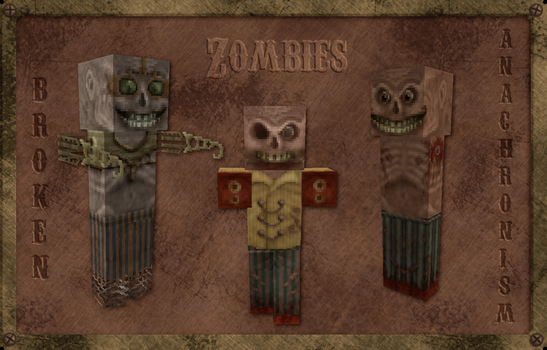 Broken Anachronism Zombies by 13thMurder