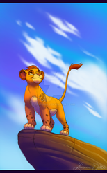 Captain of the Lion Guard by DaffoDille
