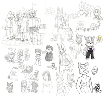 Doodle Compilation by Dai-Studios