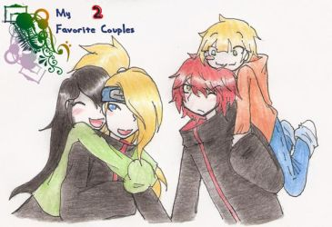 :My 2 fav Couples: by Mac-kys