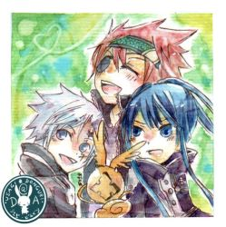 d.gray man :watercolor: by saigu