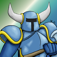 Let's Draw Shovel Knight by Fragraham