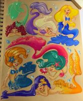 Mermaid Madness! by RamblinQuixotic