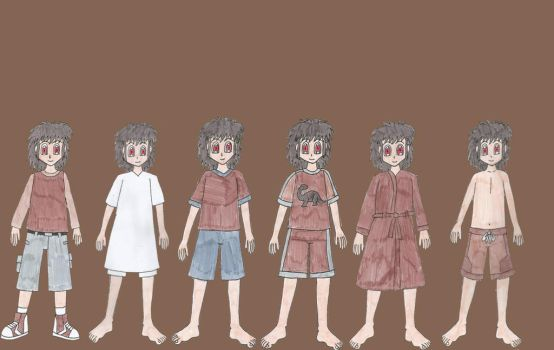 Human Littlefoots outfits by Animedalek1