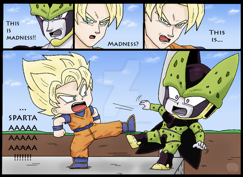 DBZ+Chibis: This is... XD by The-PirateQueen