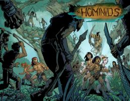 Cover 4 by Hominids