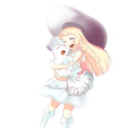Lillie Pokemon by uwabakisenpai