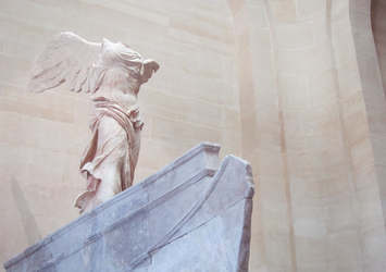 Nike of Samothrace by GinHans