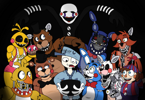 5AM (Five Nights At Freddy's 2) by JamToon