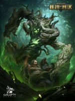 Trapping tree by Grafit-art