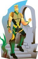 Aquaman Redesign Finished by mannycartoon