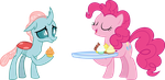Cupcake and a compliment by CloudyGlow