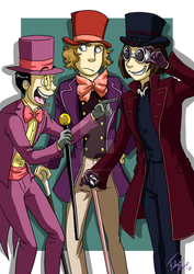 Top Hats by forte-girl7