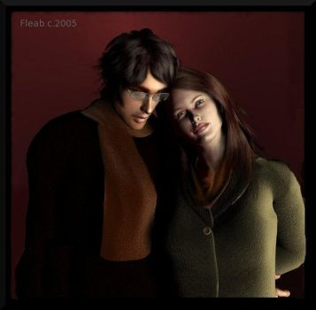 James and Lily Potter by flam