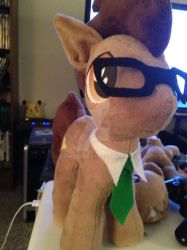 Custom 10th doctor Whooves plush by rainetomoe