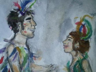 Papageno and Papagena 1 by Mezzie1994