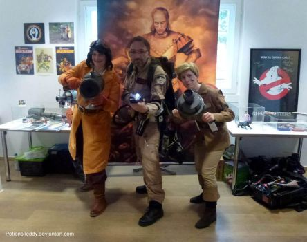 Vigo and the Ghostbusters by PotionsTeddy
