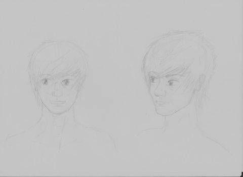 Character - 'Kestrel' Face concept by AddictedtoPencil