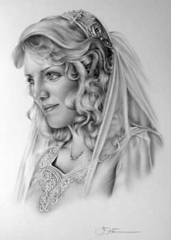Bridal Commission by IleanaHunter