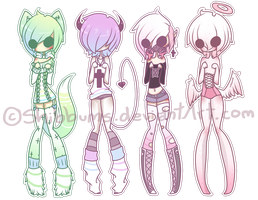 - Pastel Adoptables Auction: CLOSED - by Shibbums