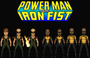 Power Man and Iron Fist (New Earth) by Nova20X