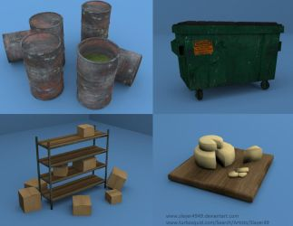 3D Models Pt. 1 by SlayersStronghold