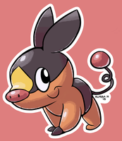 #498 Tepig by little-ampharos