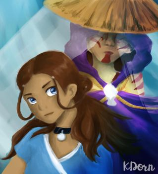 KATARA AND THE PAINTED LADY by KathyPhantomhive