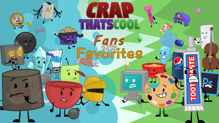 CRAPthatscool Season 4 Cast! by tehTTGuy