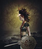 Wood Warrior by Atroksia-Photography