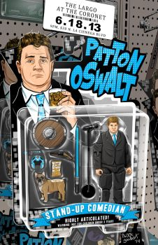 Patton Action Figure Flatted by isaac1210