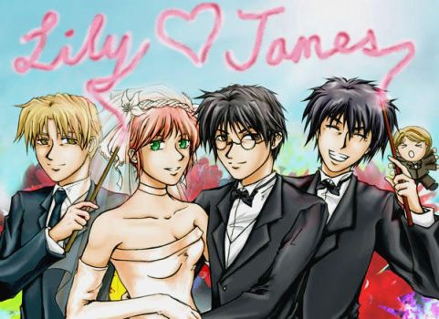 Lily and James wedding -ver 2- by cat-cat