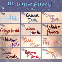 Woolyne Winter Advent Announcement! by Verlidaine