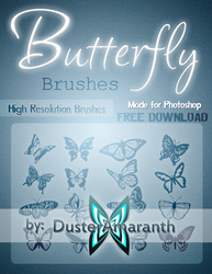Butterfly Brushes by DusterAmaranth