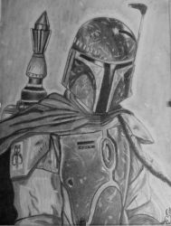 Boba Fett by Mercantille