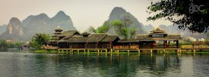 Old Chinese Architecture by acechong