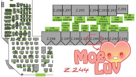 12 Japan Expo Map by Kawaii-Dream