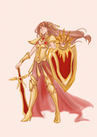 Leona of the Galaxy by AlexielApril