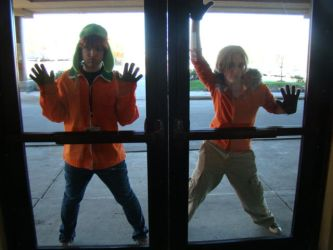 Kenny and Kyle - SP cosplay by Yuicia