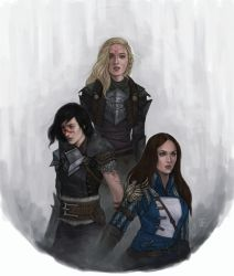 Heroes of Thedas by DancinFox