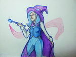 Stereotypic humanization of Trixie the Great by Batonya12561