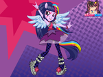 Rainbow Rocks Twilight Sparkle by user15432