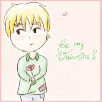 Be my Valentine? *APH-England* by MischievousRibbon