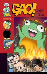 GAO! The Cute and Terrible Issue 1 Cover by JudgeFred