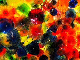 Ceiling at the Bellagio by luv2danz